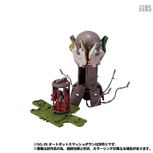Takara Tomy公开日版Earthrise五面怪官图 鳄鱼精颜色不同 变形金刚 第7张