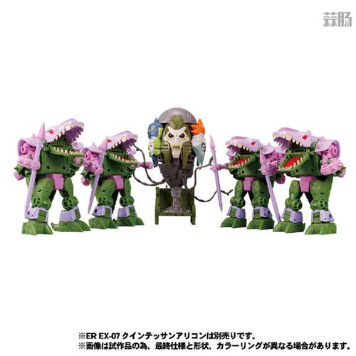 Takara Tomy公开日版Earthrise五面怪官图 鳄鱼精颜色不同 变形金刚 第8张