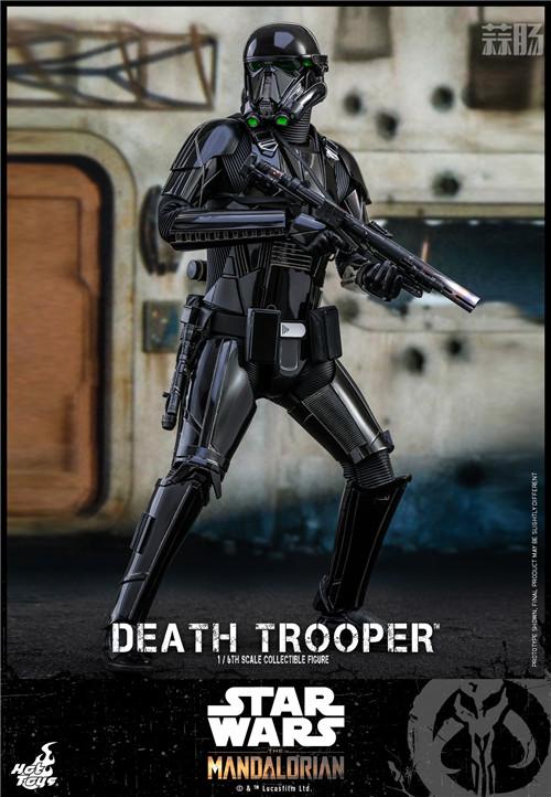 Hot Toys推出《曼达洛人》死亡士兵1:6人偶还原全黑色护甲 模玩 第2张