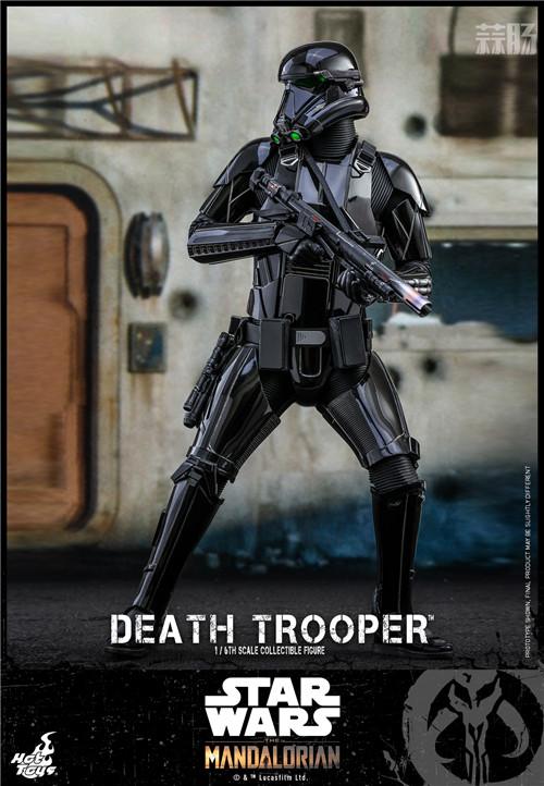 Hot Toys推出《曼达洛人》死亡士兵1:6人偶还原全黑色护甲 模玩 第3张