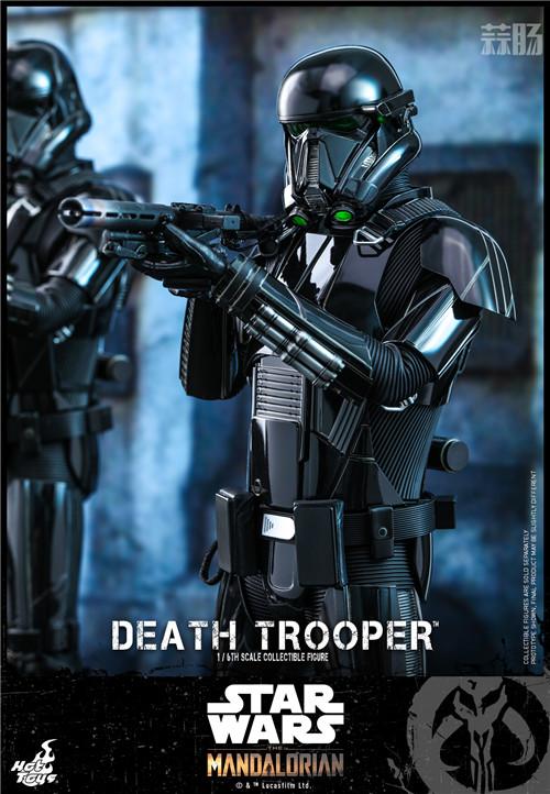 Hot Toys推出《曼达洛人》死亡士兵1:6人偶还原全黑色护甲 模玩 第4张