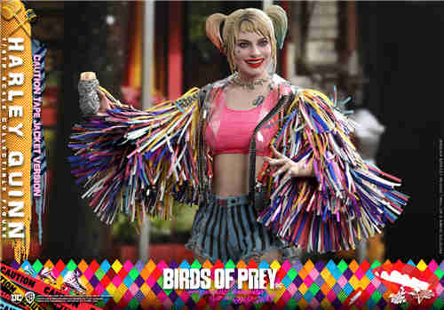 Hot Toys推出《猛禽小队和哈莉·奎茵》哈莉·奎茵1:6比例珍藏人偶