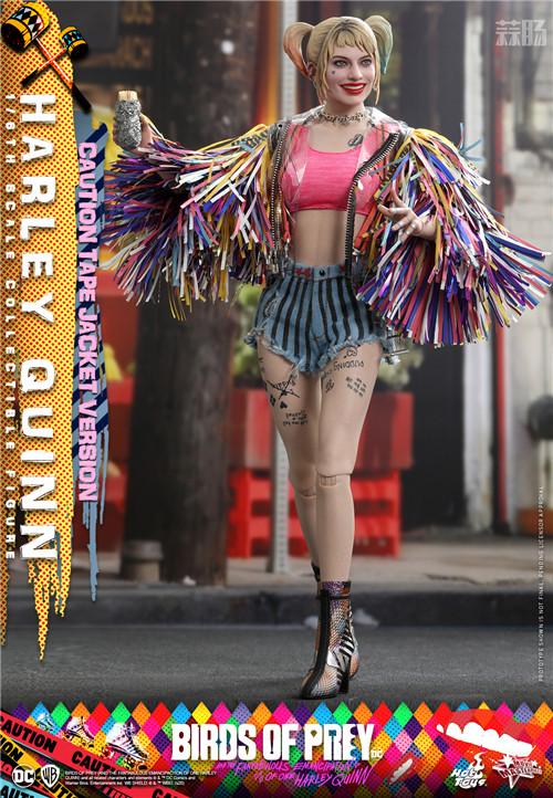 Hot Toys推出《猛禽小队和哈莉·奎茵》哈莉·奎茵1:6比例珍藏人偶 小丑女 哈莉·奎茵 猛禽小队 DC漫画 HotToys HT 模玩  第1张