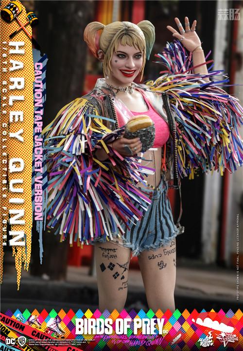 Hot Toys推出《猛禽小队和哈莉·奎茵》哈莉·奎茵1:6比例珍藏人偶 小丑女 哈莉·奎茵 猛禽小队 DC漫画 HotToys HT 模玩  第5张