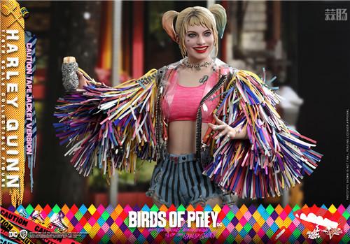 Hot Toys推出《猛禽小队和哈莉·奎茵》哈莉·奎茵1:6比例珍藏人偶 小丑女 哈莉·奎茵 猛禽小队 DC漫画 HotToys HT 模玩  第3张