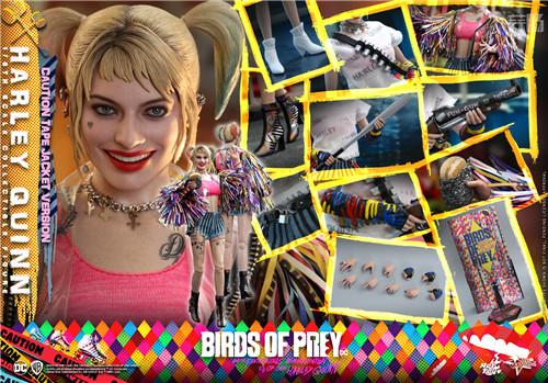 Hot Toys推出《猛禽小队和哈莉·奎茵》哈莉·奎茵1:6比例珍藏人偶 小丑女 哈莉·奎茵 猛禽小队 DC漫画 HotToys HT 模玩  第8张
