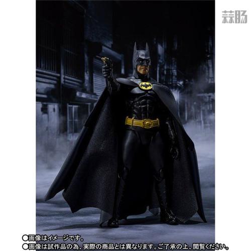 万代推出SHF1989年电影版蝙蝠侠 模玩 第6张