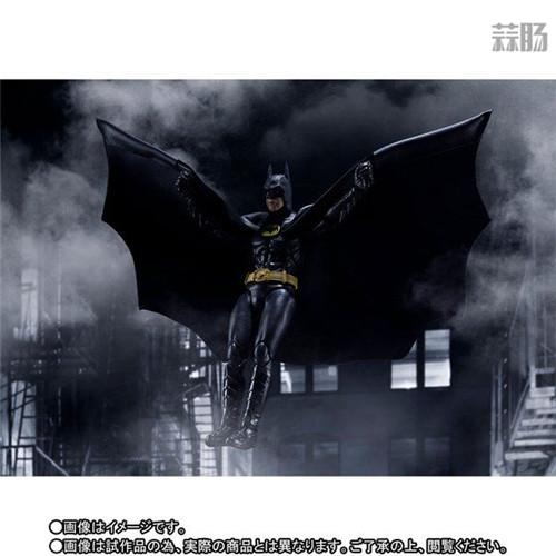 万代推出SHF1989年电影版蝙蝠侠 模玩 第4张