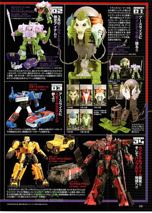 日本杂志公开变形金刚地出天猫号等玩具新细节 变形金刚 第3张
