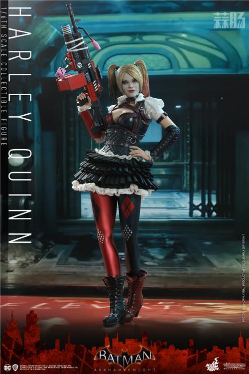 Hot Toys推出《蝙蝠侠:阿卡姆骑士》小丑女哈莉·奎茵1:6人偶 模玩 第1张