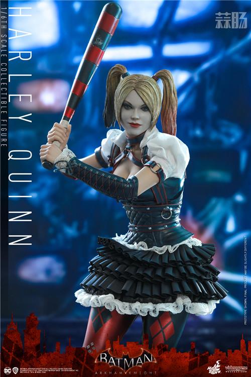 Hot Toys推出《蝙蝠侠:阿卡姆骑士》小丑女哈莉·奎茵1:6人偶 模玩 第2张