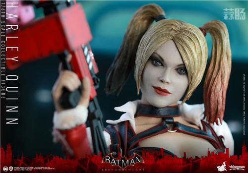 Hot Toys推出《蝙蝠侠:阿卡姆骑士》小丑女哈莉·奎茵1:6人偶 模玩 第3张