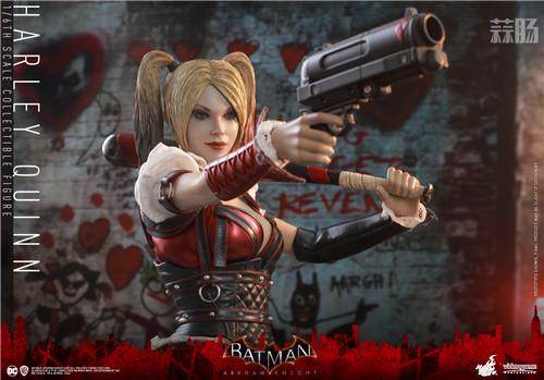 Hot Toys推出《蝙蝠侠:阿卡姆骑士》小丑女哈莉·奎茵1:6人偶 模玩 第4张