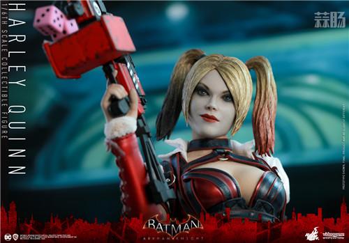 Hot Toys推出《蝙蝠侠:阿卡姆骑士》小丑女哈莉·奎茵1:6人偶 模玩 第5张