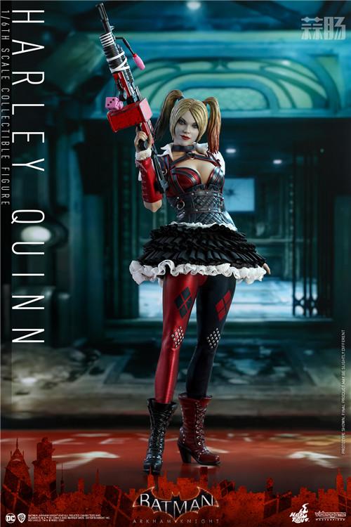 Hot Toys推出《蝙蝠侠:阿卡姆骑士》小丑女哈莉·奎茵1:6人偶 模玩 第6张