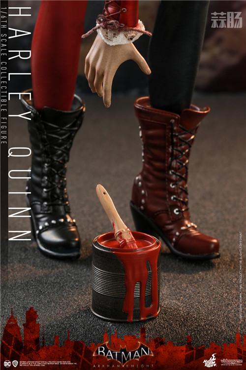 Hot Toys推出《蝙蝠侠:阿卡姆骑士》小丑女哈莉·奎茵1:6人偶 模玩 第7张