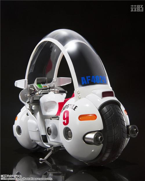 万代推出SHF《龙珠》TV动画初版布玛摩托 模玩 第2张