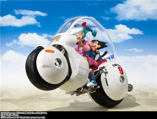 万代推出SHF《龙珠》TV动画初版布玛摩托 模玩 第4张
