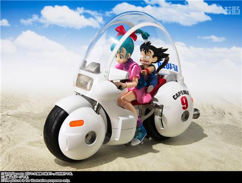 万代推出SHF《龙珠》TV动画初版布玛摩托 模玩 第6张