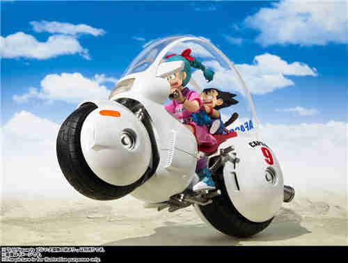 万代推出SHF《龙珠》TV动画初版布玛摩托