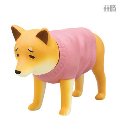 """日厂Kitan Club推出六款""""垂头丧气脸""""的柴犬扭蛋惹人爱 模玩 第3张"""