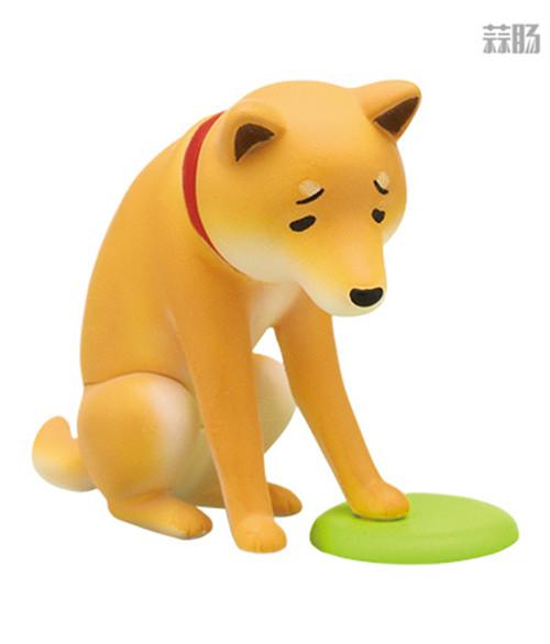 """日厂Kitan Club推出六款""""垂头丧气脸""""的柴犬扭蛋惹人爱 模玩 第2张"""