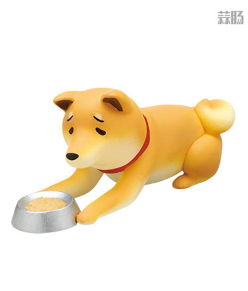 """日厂Kitan Club推出六款""""垂头丧气脸""""的柴犬扭蛋惹人爱 模玩 第6张"""