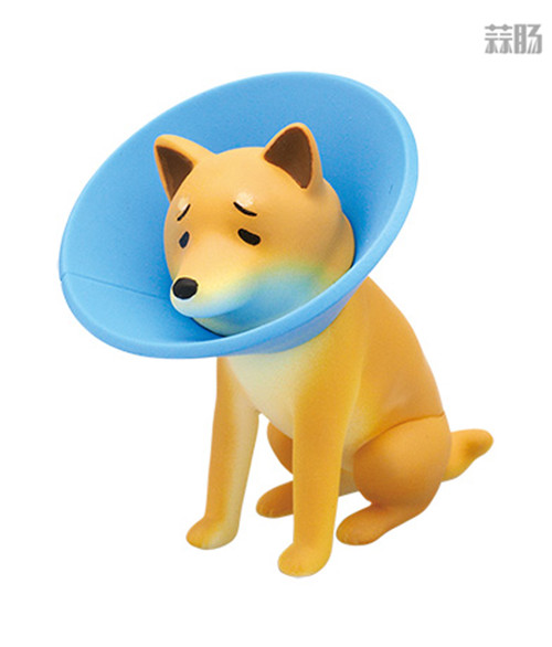 """日厂Kitan Club推出六款""""垂头丧气脸""""的柴犬扭蛋惹人爱 模玩 第4张"""