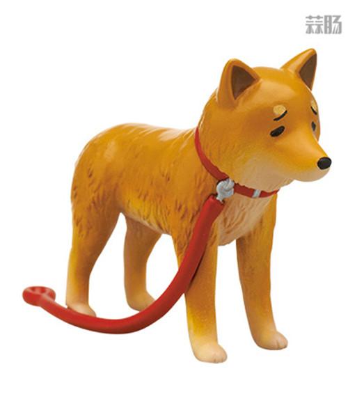 """日厂Kitan Club推出六款""""垂头丧气脸""""的柴犬扭蛋惹人爱 模玩 第5张"""