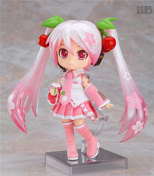 良笑社推出CVS01樱初音粘土人Doll与全套服装 模玩 第1张