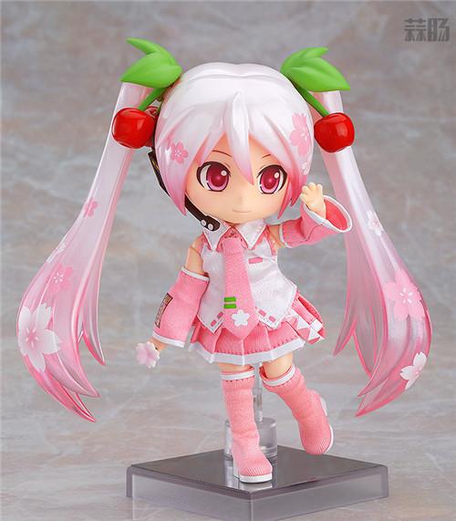 良笑社推出CVS01樱初音粘土人Doll与全套服装 模玩 第2张