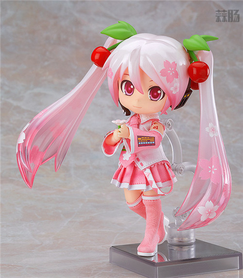 良笑社推出CVS01樱初音粘土人Doll与全套服装 模玩 第4张
