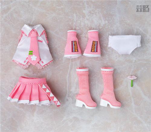 良笑社推出CVS01樱初音粘土人Doll与全套服装 模玩 第7张