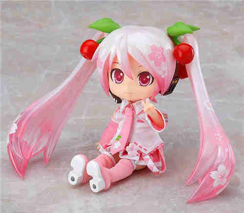 良笑社推出CVS01樱初音粘土人Doll与全套服装