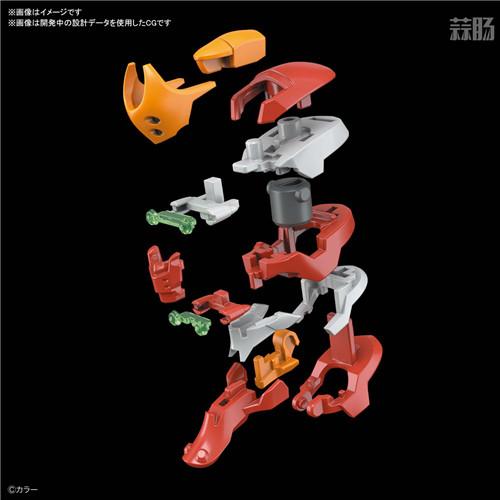 万代推出RG新世纪福音战士二号机 9月发售 模玩 第4张