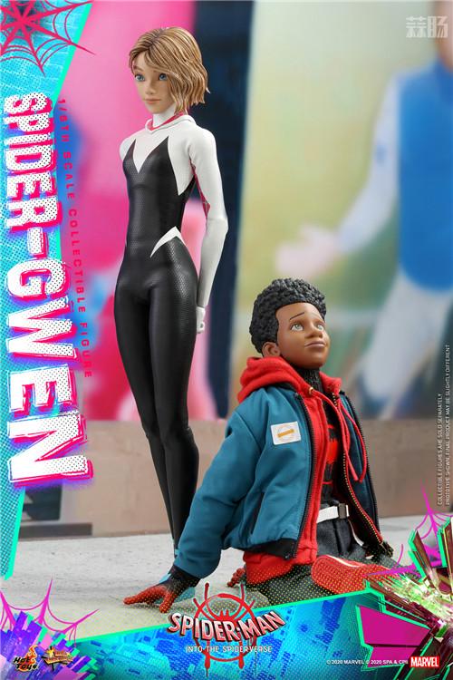 Hot Toys推出《蜘蛛侠:平行宇宙》蜘蛛格温 1:6 比例珍藏人偶 模玩 第4张