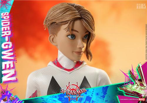 Hot Toys推出《蜘蛛侠:平行宇宙》蜘蛛格温 1:6 比例珍藏人偶 模玩 第8张