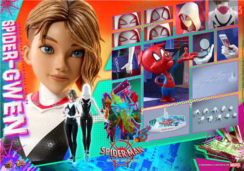 Hot Toys推出《蜘蛛侠:平行宇宙》蜘蛛格温 1:6 比例珍藏人偶 模玩 第10张