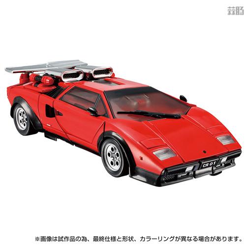 Takara Tomy推出戴亚克隆联动变形金刚MP 39+红色飞毛腿 汽车机器人 戴亚克隆 红色飞毛腿 MP 39+ 变形金刚 变形金刚  第2张
