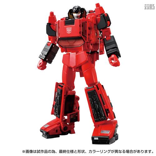 Takara Tomy推出戴亚克隆联动变形金刚MP 39+红色飞毛腿 汽车机器人 戴亚克隆 红色飞毛腿 MP 39+ 变形金刚 变形金刚  第1张