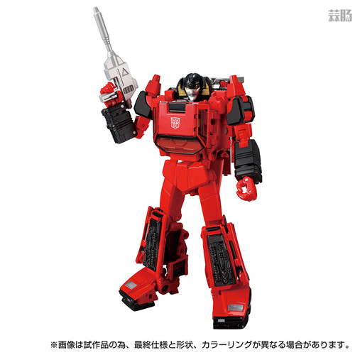 Takara Tomy推出戴亚克隆联动变形金刚MP 39+红色飞毛腿 汽车机器人 戴亚克隆 红色飞毛腿 MP 39+ 变形金刚 变形金刚  第5张