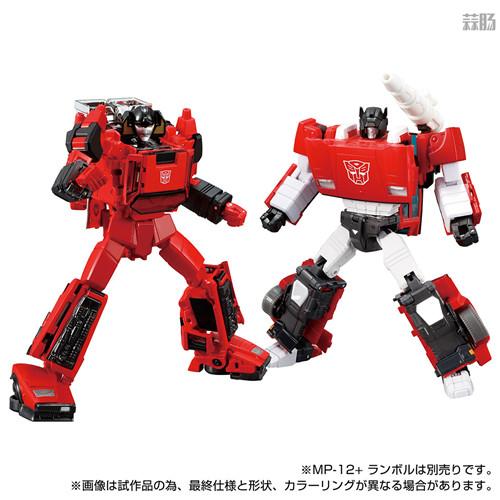 Takara Tomy推出戴亚克隆联动变形金刚MP 39+红色飞毛腿 汽车机器人 戴亚克隆 红色飞毛腿 MP 39+ 变形金刚 变形金刚  第8张