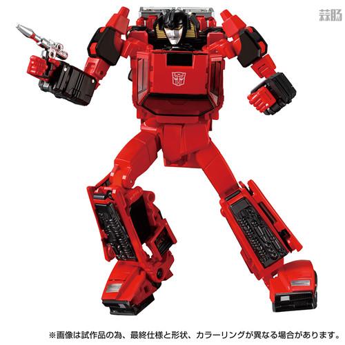 Takara Tomy推出戴亚克隆联动变形金刚MP 39+红色飞毛腿 汽车机器人 戴亚克隆 红色飞毛腿 MP 39+ 变形金刚 变形金刚  第3张