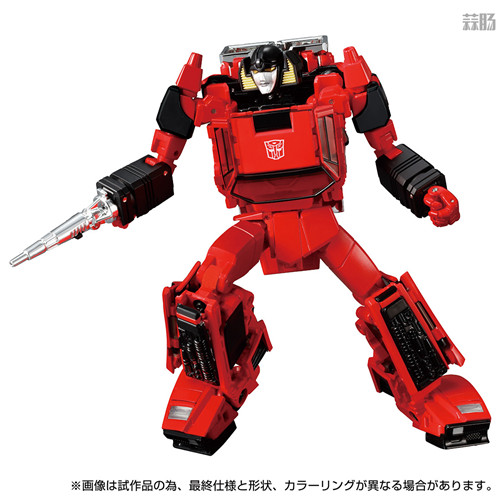 Takara Tomy推出戴亚克隆联动变形金刚MP 39+红色飞毛腿 汽车机器人 戴亚克隆 红色飞毛腿 MP 39+ 变形金刚 变形金刚  第4张