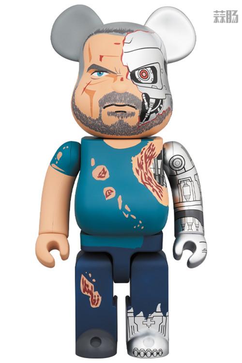 Medicom Toy推出《终结者:黑暗命运》终结者BE@RBRICK T 800 阿诺施瓦辛格 终结者:黑暗命运 BE@RBRICK 模玩  第1张