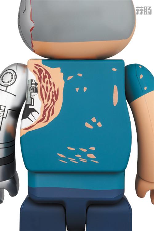 Medicom Toy推出《终结者:黑暗命运》终结者BE@RBRICK T 800 阿诺施瓦辛格 终结者:黑暗命运 BE@RBRICK 模玩  第3张