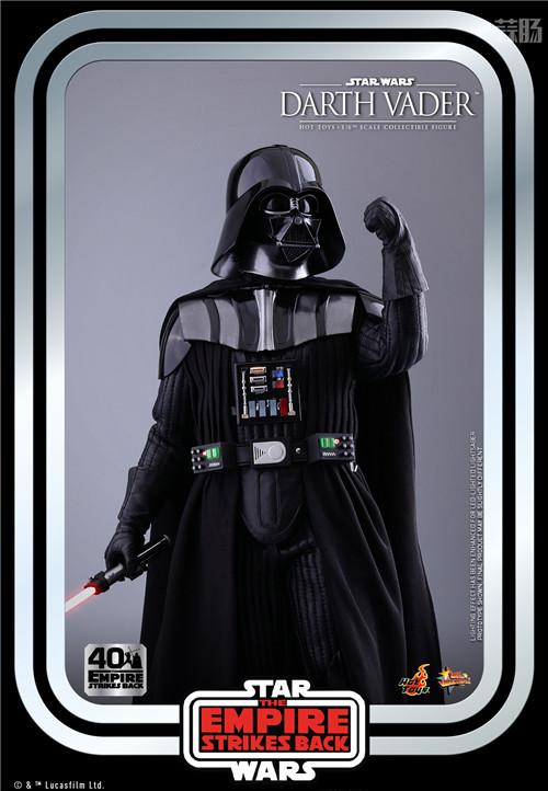 Hot Toys重启《帝国反击战40周年系列》黑武士达斯·维达1:6人偶 模玩 第5张