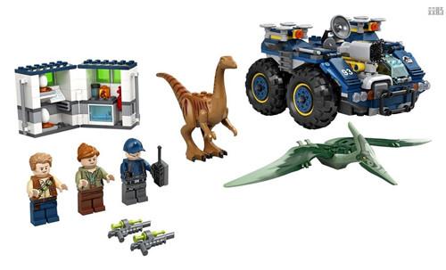 乐高《侏罗纪世界》四件套官图更新2020年夏季发售 侏罗纪世界 LEGO 乐高 模玩  第6张