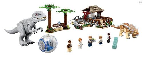 乐高《侏罗纪世界》四件套官图更新2020年夏季发售 侏罗纪世界 LEGO 乐高 模玩  第9张