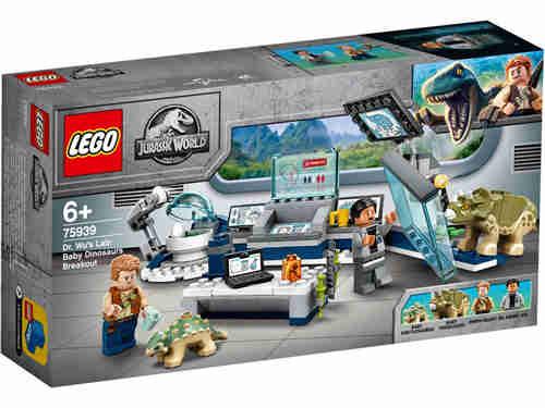 乐高《侏罗纪世界》四件套官图更新2020年夏季发售